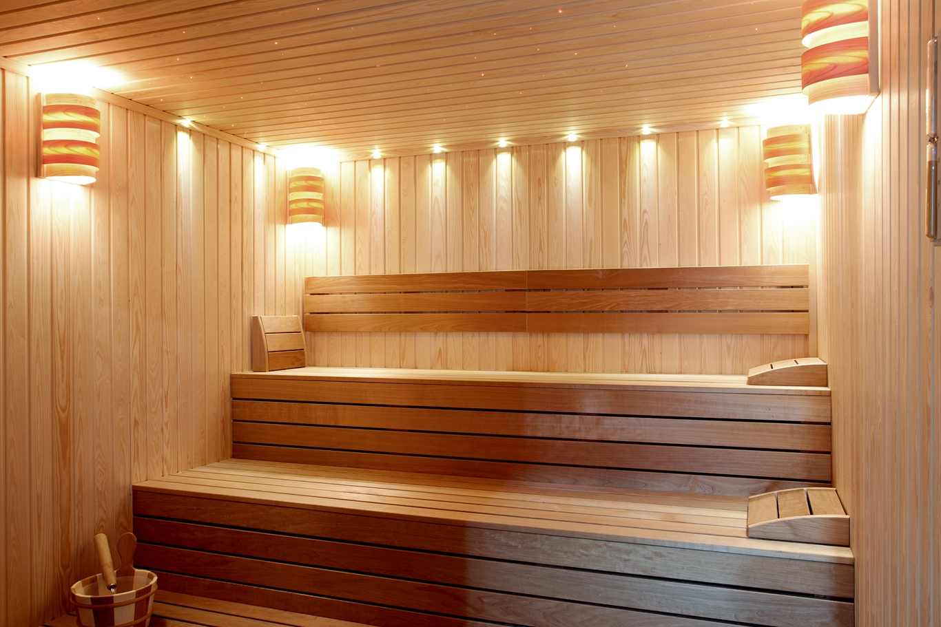 Sauna/stream-bath